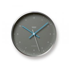 【Lemnos】CASA 置き掛け両用時計 MIZUIRO(グレー)・LC07-06GY