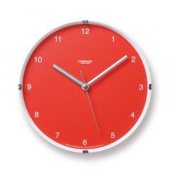 【Lemnos】CASA 置き掛け両用時計 North mini(レッド)・LC05-03RE