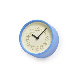 【Lemnos】DESIGN OBJECTS 置き時計 小さな時計(ライトブルー)・WR07-15LBL