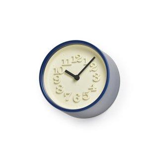 【Lemnos】DESIGN OBJECTS 置き時計 小さな時計(ブルー)・WR07-15BL
