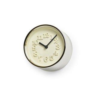 【Lemnos】DESIGN OBJECTS 置き時計 小さな時計(シルバー)・WR07-15SL