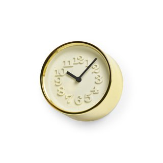 【Lemnos】DESIGN OBJECTS 置き時計 小さな時計(ゴールド)・WR07-15GD