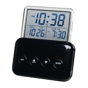 【SMARTEK】目覚まし時計 アラームクロック(ブラック)・ML-937-ZBK