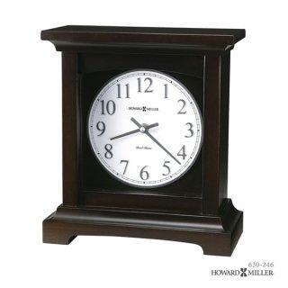 【HOWARD MILLER】置時計 マントルクロック URBAN MANTEL II (ブラック仕上げ)・630-246