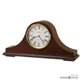 【HOWARD MILLER】置時計 マントルクロック CHRISTOPHER (チェリー仕上げ)・635-101