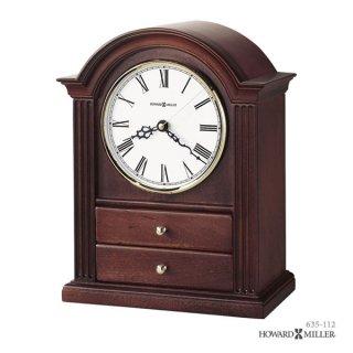【HOWARD MILLER】置時計 マントルクロック KAYLA (チェリー仕上げ)・635-112
