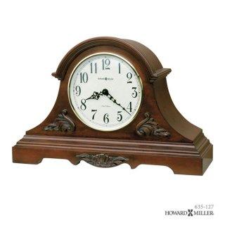 【HOWARD MILLER】置時計 マントルクロック SHELDON (チェリー仕上げ)・635-127