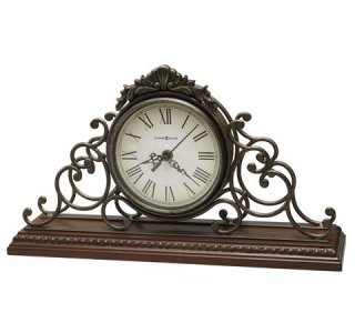 【HOWARD MILLER】置時計 マントルクロック ADELAIDE (チェリー仕上げ)・635-130