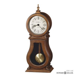 【HOWARD MILLER】置時計 マントルクロック ARENDAL MANTEL (チェリー仕上げ)・635-146