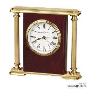 【HOWARD MILLER】置時計 テーブルトップクロック ROSEWOOD ENCORE BRACKET (紫檀仕上げ)・645-104