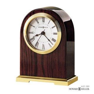 【HOWARD MILLER】置時計 テーブルトップクロック CARTER (紫檀仕上げ)・645-389