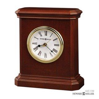 【HOWARD MILLER】置時計 テーブルトップクロック WINDSOR CARRIAGE (チェリー仕上げ)・645-530