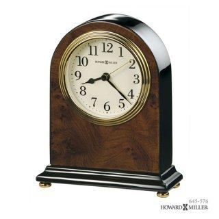 【HOWARD MILLER】置時計 テーブルトップクロック BEDFORD (ピアノ仕上げ)・645-576
