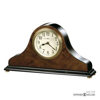 【HOWARD MILLER】置時計 テーブルトップクロック BAXTER (ピアノ仕上げ)・645-578