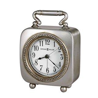 【HOWARD MILLER】置時計 目覚まし時計 KEGAN (錫製)・645-615
