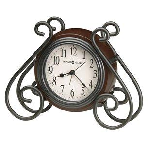 【HOWARD MILLER】置時計 目覚まし時計 DIANE (木製)・645-636