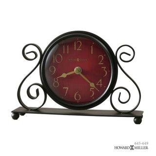 【HOWARD MILLER】置時計 テーブルトップクロック MARISA (アンティーク調仕上げ)・645-649