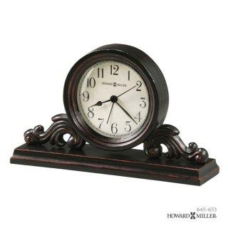 【HOWARD MILLER】置時計 目覚まし時計 BISHOP (木製)・645-653