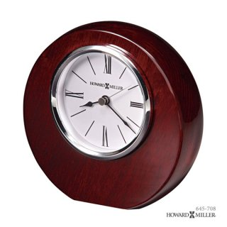 【HOWARD MILLER】置時計 テーブルトップクロック ADONIS (紫檀仕上げ)・645-708