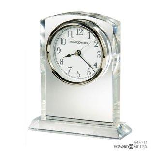 【HOWARD MILLER】置時計 テーブルトップクロック FLAIRE (クリスタル製)・645-713
