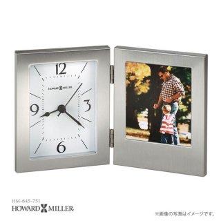 【HOWARD MILLER】置時計 テーブルトップクロック ENVISION (アルミニウム製)・645-751