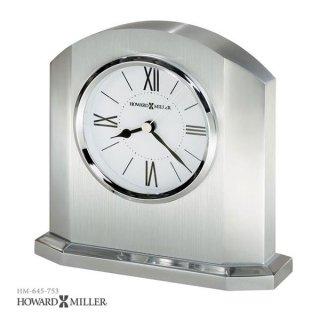 【HOWARD MILLER】置時計 目覚まし時計 LINCOLN (アルミニウム製)・645-753