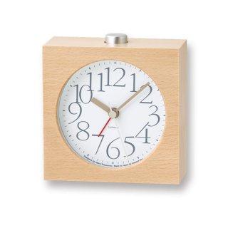 【Lemnos】CASA 目覚まし時計 AY alarm clock(ホワイト)・LA10-07WH