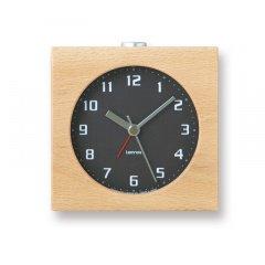 【Lemnos】CASA 目覚まし時計 Block(ブラック)・PA08-30BK