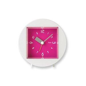 【Lemnos】KID'S+MODERN 目覚まし時計 Tapio(ピンク)・PA09-08PK