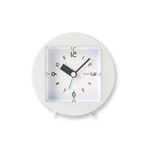 【Lemnos】KID'S+MODERN 目覚まし時計 Tapio(ホワイト)・PA09-08WH