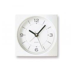 【Lemnos】KID'S+MODERN 目覚まし時計 EPICE(ホワイト)・PA09-09WH