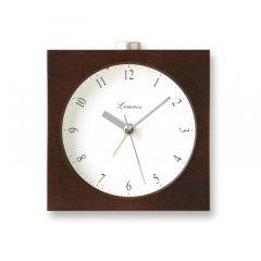【Lemnos】Plain 目覚まし時計 Nocturne(ブラウン)・PA09-10BW