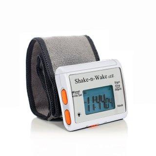 【Shake-n-Wake】サイレントバイレーティング 振動目覚まし時計 シェイクン・ウェイク