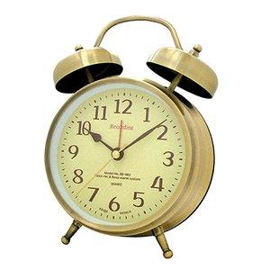 【誠時】目覚まし時計録音再生機能付きアナログクロックAnalogRecordingClock(アナログレコーディングクロック)(ゴールド)・RD-002GD