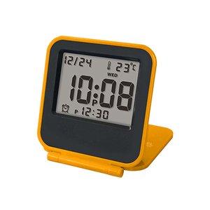 【誠時】目覚まし時計アラーム付トラベルクロックCoppet(コペ)(オレンジ)・LS-013OR