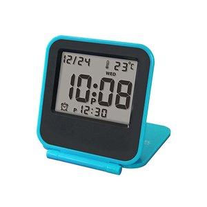 【誠時】目覚まし時計アラーム付トラベルクロックCoppet(コペ)(ブルー)・LS-013BU