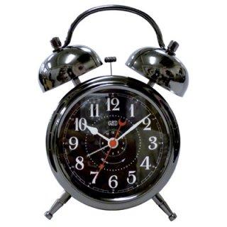 【Capito】置き時計 Double Bell Alarm Clock(ガンメタル)・CP-WB01-GM