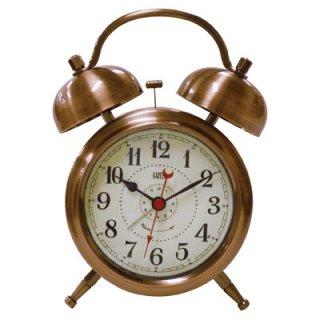 【Capito】置き時計 Double Bell Alarm Clock(ブロンズ)・CP-WB01-BZ