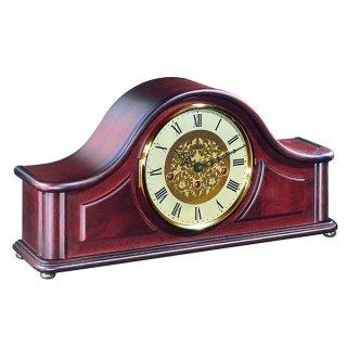 【Hermle】置き時計 Acton(マホガニー)・21142-070340
