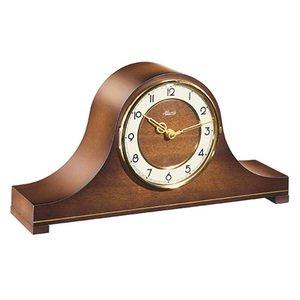 【Hermle】置き時計 Aurora(ウォルナット)・21103-032114