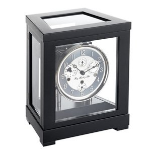【Hermle】置き時計 Ewiger Kalender(ブラック)・22966-740352