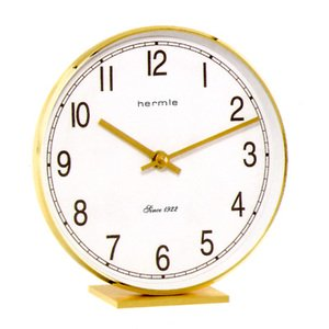 【Hermle】置き時計 Fremont(ゴールド)・22986-002100