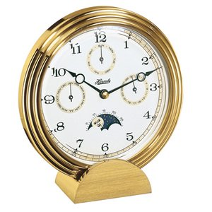【Hermle】置き時計 Stockton (ゴールド)・22641-002100