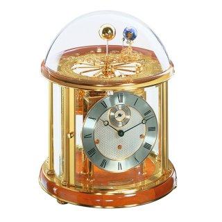 【Hermle】置き時計 Tellurium (チェリーウッド)・22805-160352