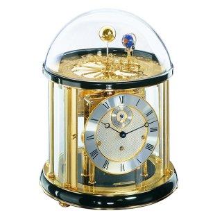 【Hermle】置き時計 Tellurium (ブラック)・22805-740352