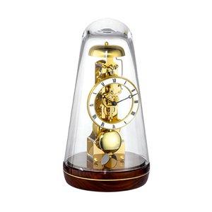 【Hermle】置き時計 Turin (ウォルナット)・22001-030791