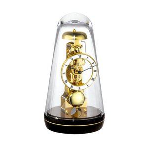 【Hermle】置き時計 Turin (ブラック)・22001-740791