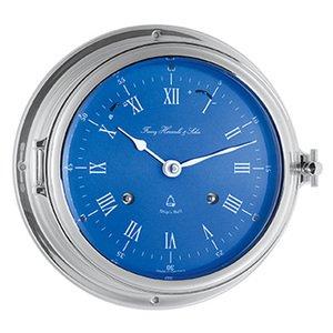 【Hermle】置き時計 Royal Forune(クローム色)・35067-000132
