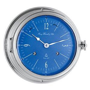 【Hermle】置き時計 Royal Forune(クローム色)・35068-000132