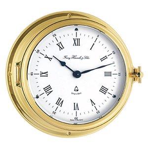 【Hermle】置き時計 Ships Clock(ゴールド)・35065-002117